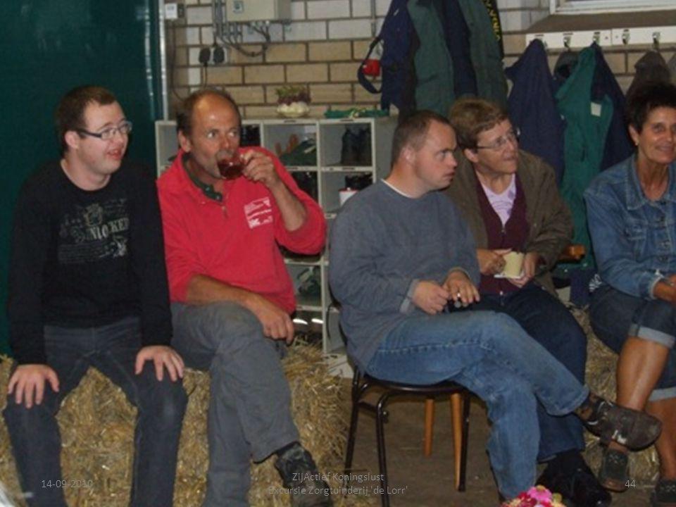 14-09-201044 ZijActief Koningslust Excursie Zorgtuinderij 'de Lorr'
