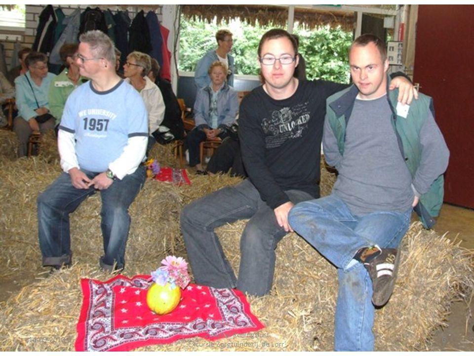 14-09-20106 ZijActief Koningslust Excursie Zorgtuinderij 'de Lorr'