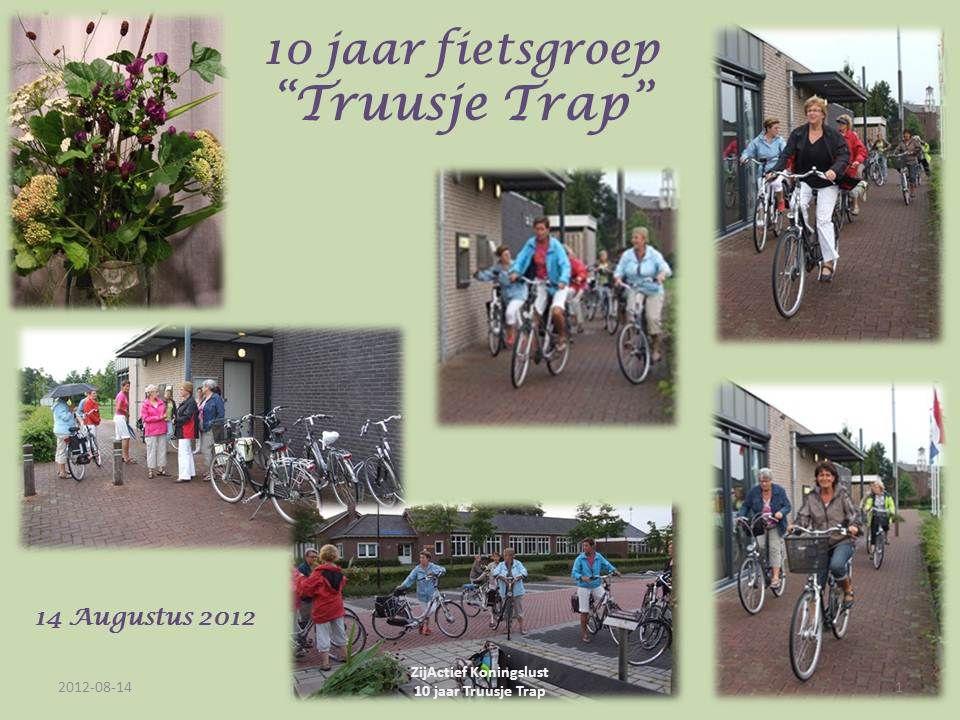 Fotoalbum door Riet 2012-08-14 ZijActief Koningslust 10 jaar Truusje Trap 1