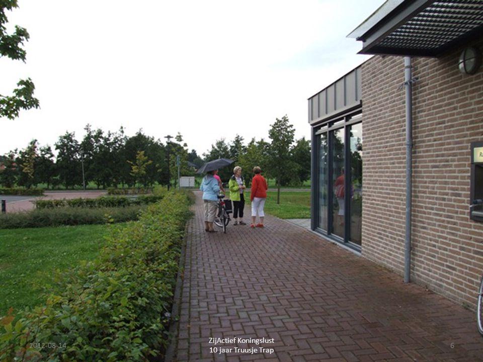 2012-08-14 ZijActief Koningslust 10 jaar Truusje Trap 17