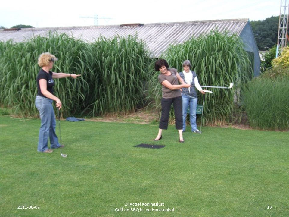 2011-06-0713 ZijActief Koningslust Golf en BBQ bij de Hanssenhof