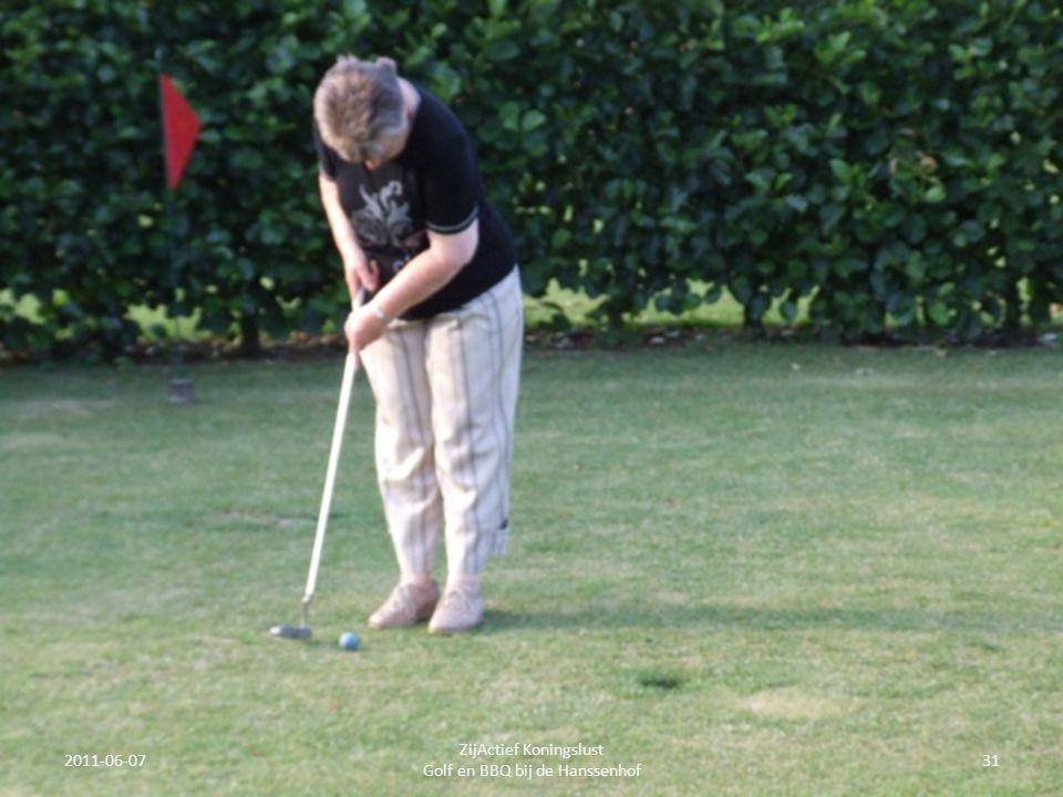 2011-06-0731 ZijActief Koningslust Golf en BBQ bij de Hanssenhof