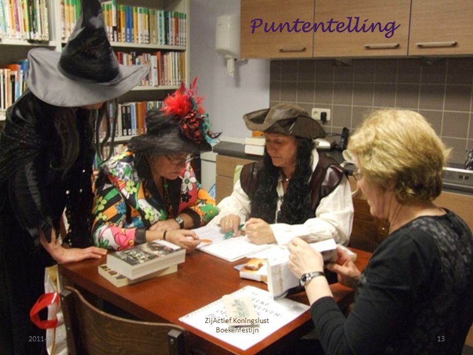 2011-03-2213 ZijActief Koningslust Boekenfestijn Puntentelling