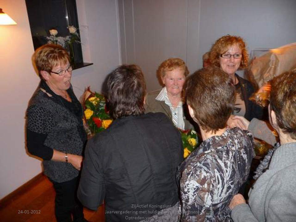 24-01-2012 ZijActief Koningslust Jaarvergadering met huldiging van jubilarissen Optreden van Marij Gijsen 32