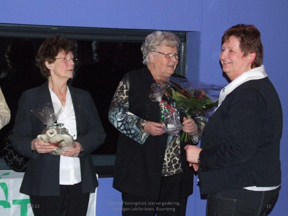 2010-02-2315 Zijactief Koningslust Jaarvergadering, Huldigen Jubilarissen, Buurtzorg