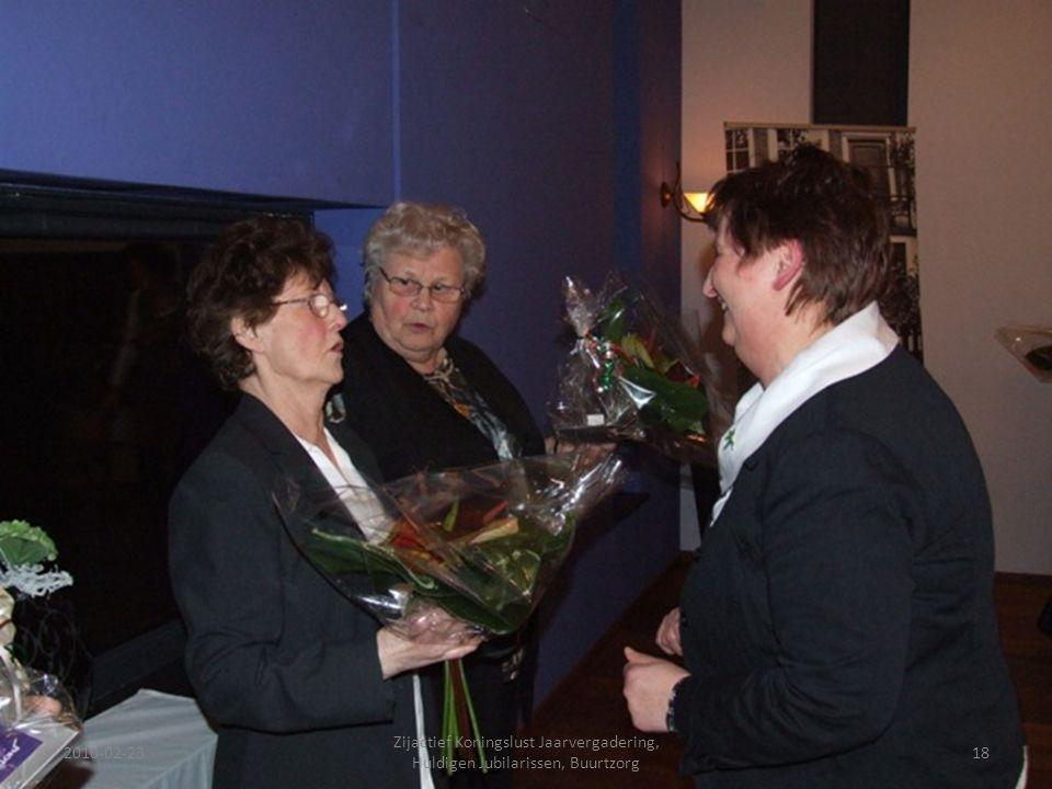 2010-02-2318 Zijactief Koningslust Jaarvergadering, Huldigen Jubilarissen, Buurtzorg