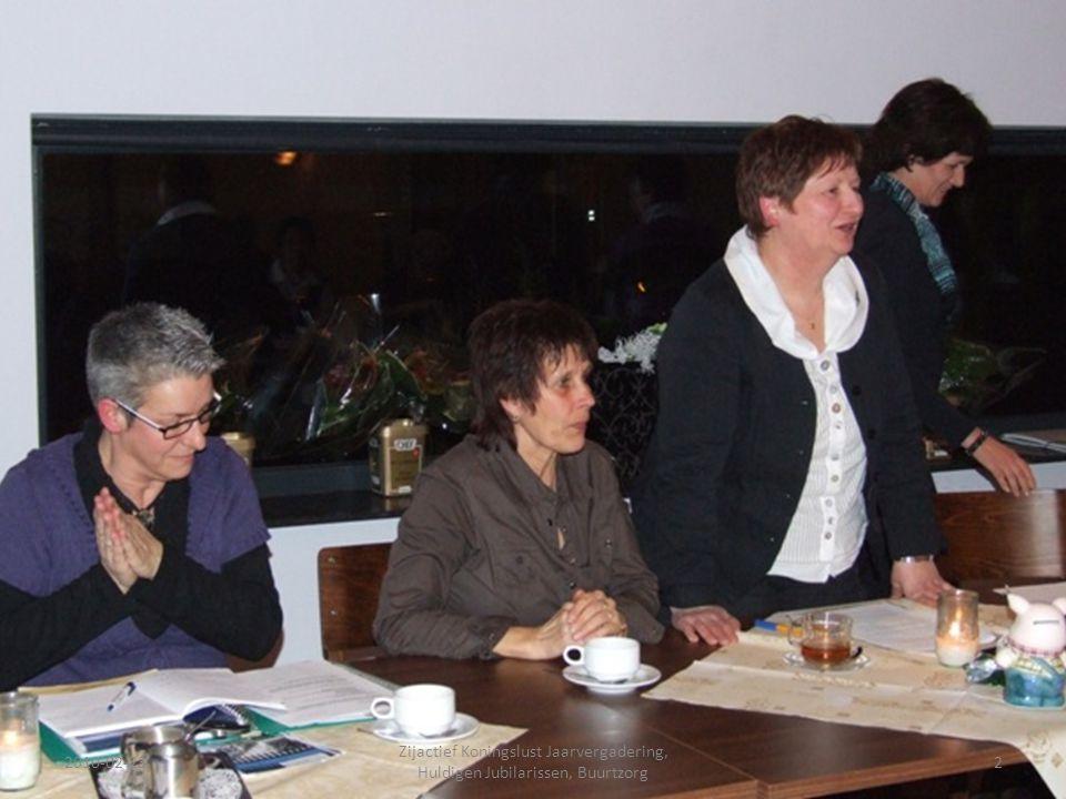2010-02-232 Zijactief Koningslust Jaarvergadering, Huldigen Jubilarissen, Buurtzorg