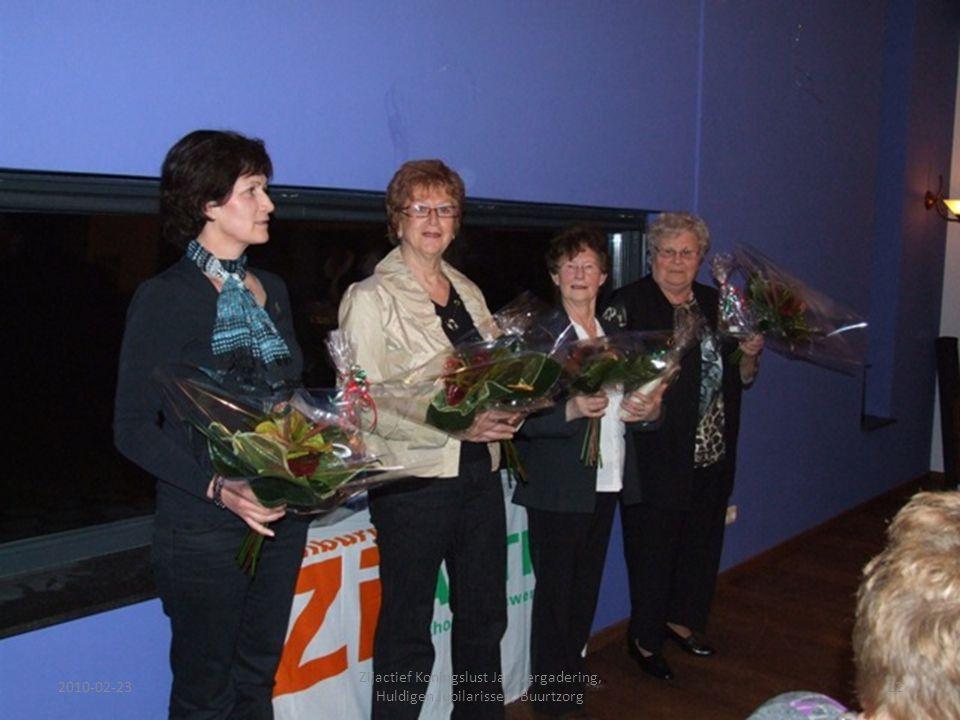 2010-02-2322 Zijactief Koningslust Jaarvergadering, Huldigen Jubilarissen, Buurtzorg