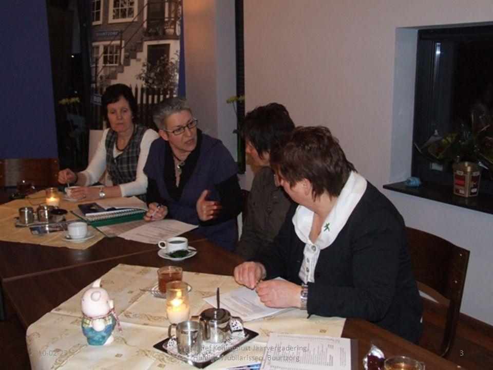 2010-02-233 Zijactief Koningslust Jaarvergadering, Huldigen Jubilarissen, Buurtzorg