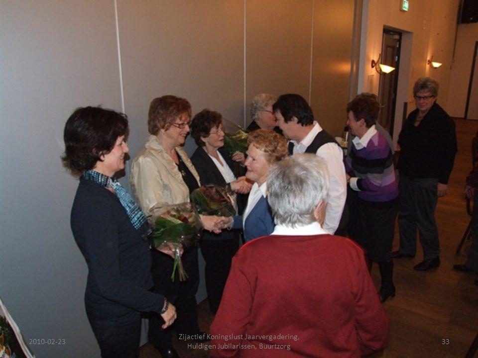 2010-02-2333 Zijactief Koningslust Jaarvergadering, Huldigen Jubilarissen, Buurtzorg