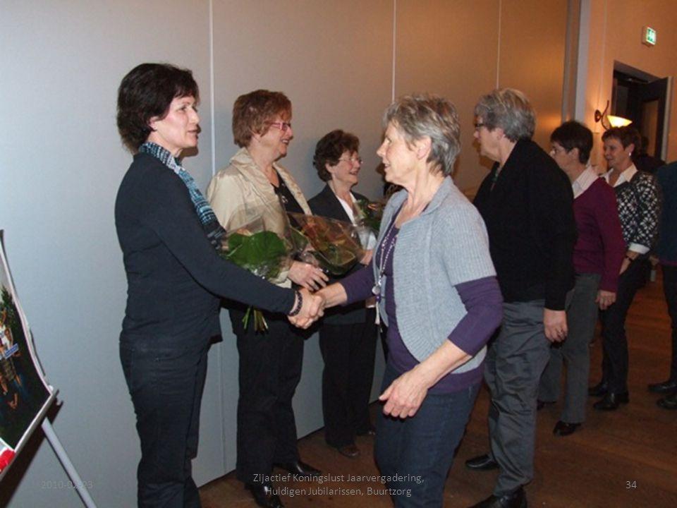 2010-02-2334 Zijactief Koningslust Jaarvergadering, Huldigen Jubilarissen, Buurtzorg