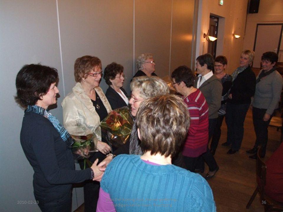2010-02-2336 Zijactief Koningslust Jaarvergadering, Huldigen Jubilarissen, Buurtzorg