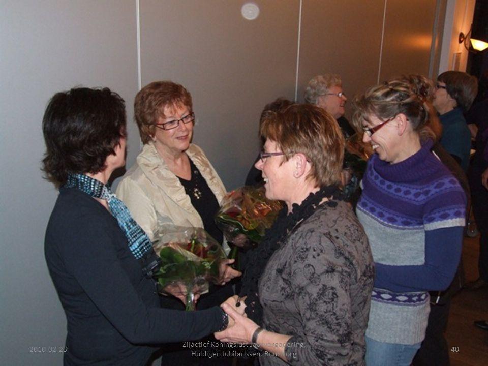2010-02-2340 Zijactief Koningslust Jaarvergadering, Huldigen Jubilarissen, Buurtzorg