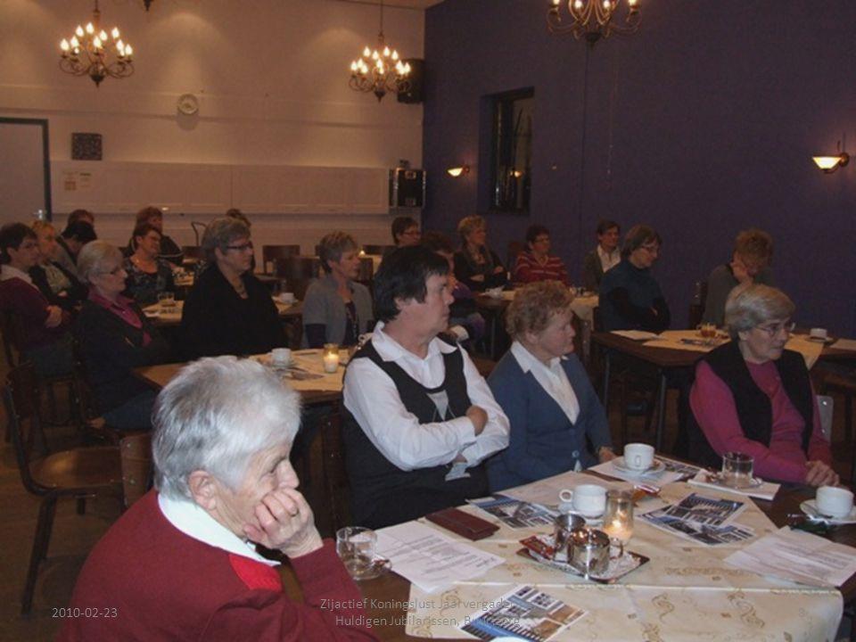 2010-02-238 Zijactief Koningslust Jaarvergadering, Huldigen Jubilarissen, Buurtzorg
