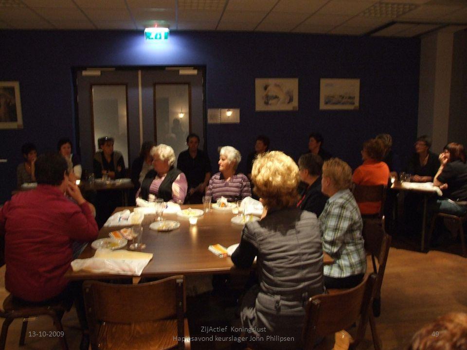 13-10-200949 ZijActief Koningslust Hapjesavond keurslager John Philipsen