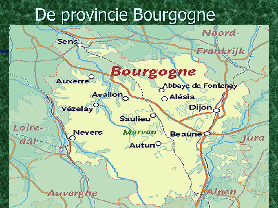 De provincie Bourgogne