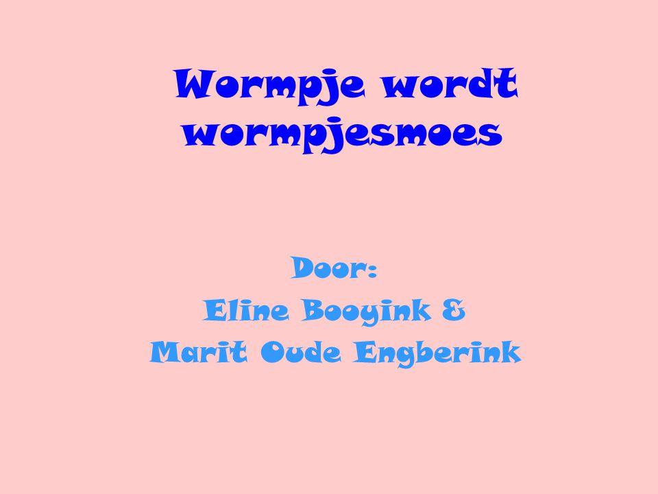 Wormpje wordt wormpjesmoes Door: Eline Booyink & Marit Oude Engberink