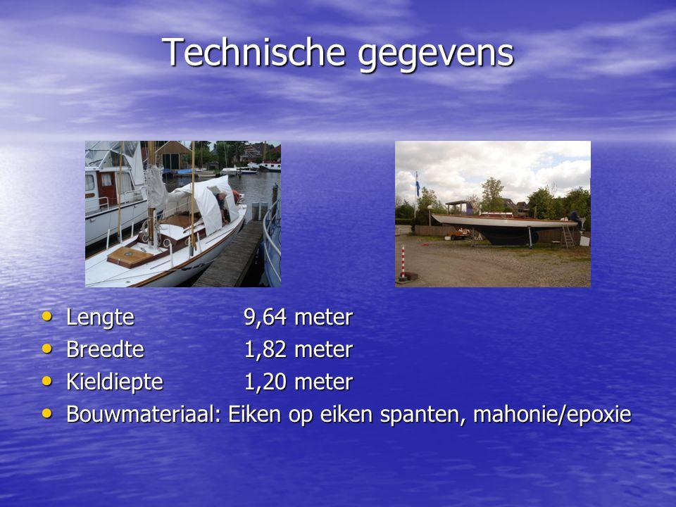 Scheepstoebehoren (1) BB-motor: Yamaha 9,9 pk (1998) BB-motor: Yamaha 9,9 pk (1998) Grootzeil, Genua (32m² en stormfok Grootzeil, Genua (32m² en stormfok Div.