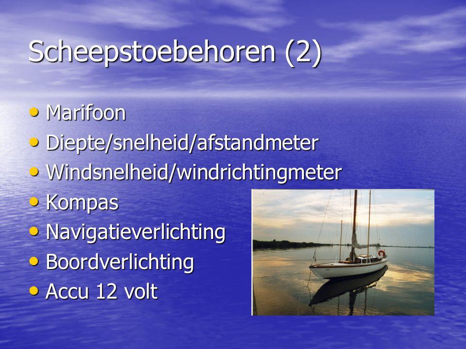 Overige toebehoren Dekzeil Dekzeil Nieuw kuipzeil (2005) Nieuw kuipzeil (2005) RVS kooktoestel RVS kooktoestel