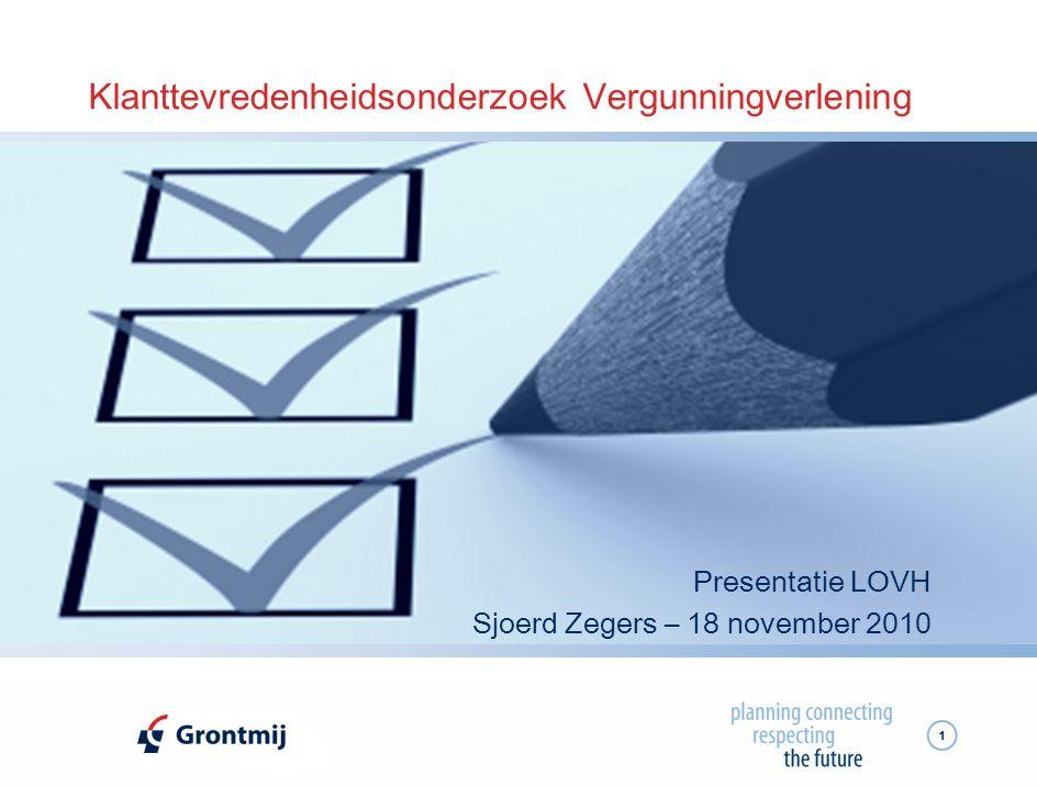 12 Implementatie in de interne organisatie  Doorvertaling van de resultaten van het onderzoek in de organisatie  Draagvlak voor KTO  Intern bespreken van de resultaten  Verbeteringen doorvoeren