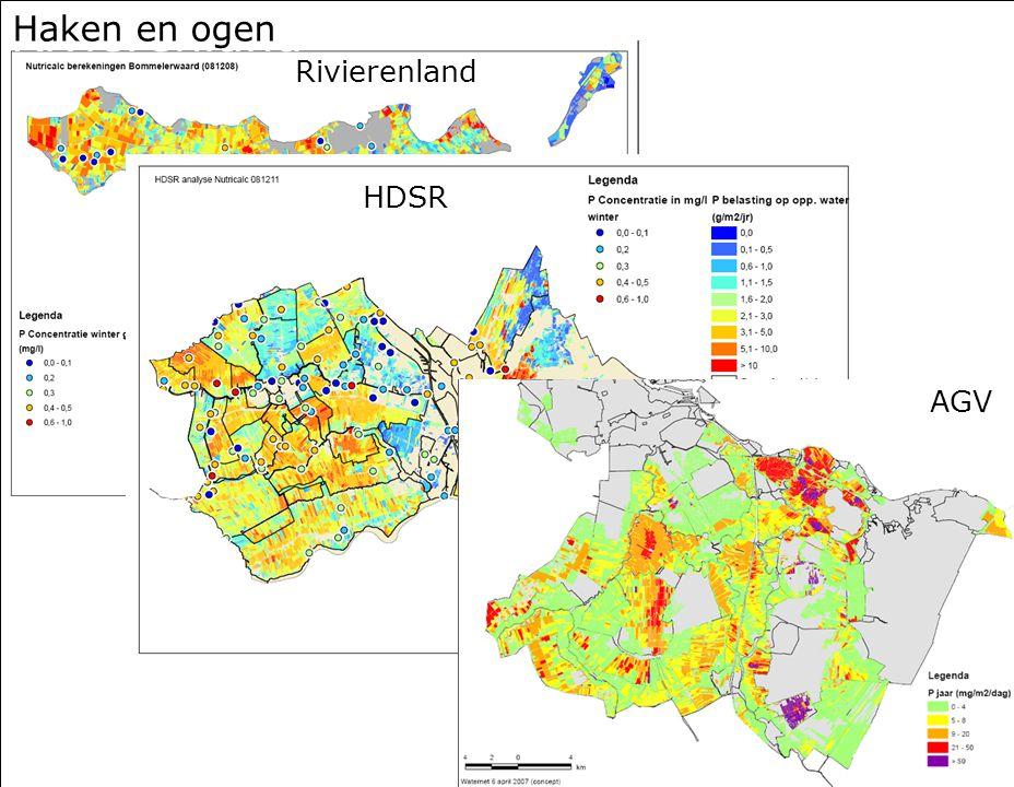 Rivierenland Haken en ogen Rivierenland HDSR AGV