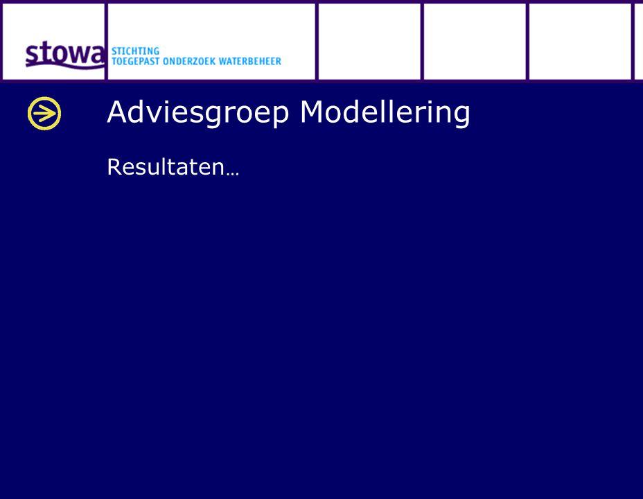 Adviesgroep Modellering Resultaten …