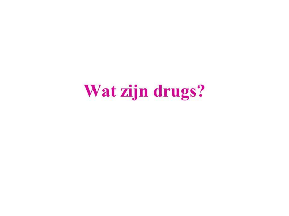 Wat zijn drugs?