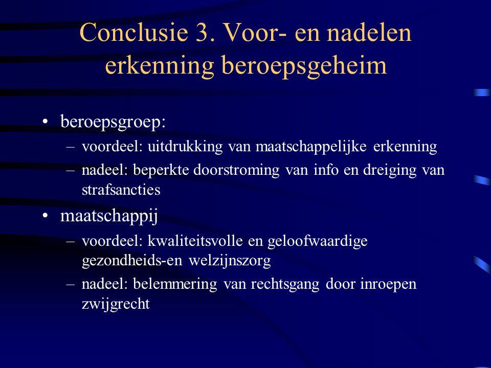 Conclusie 3.