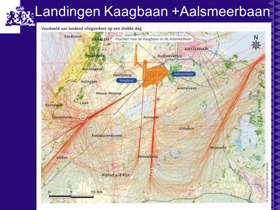 Landingen Kaagbaan +Aalsmeerbaan