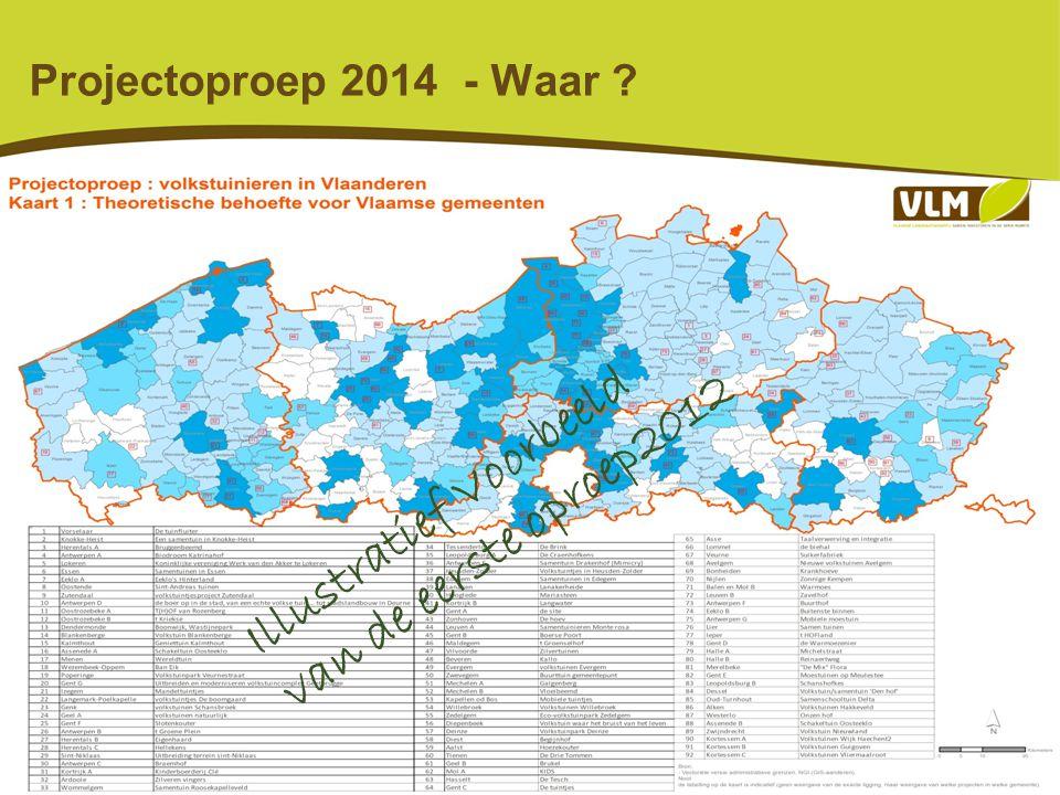 6 Projectoproep 2014 - Voor wie .