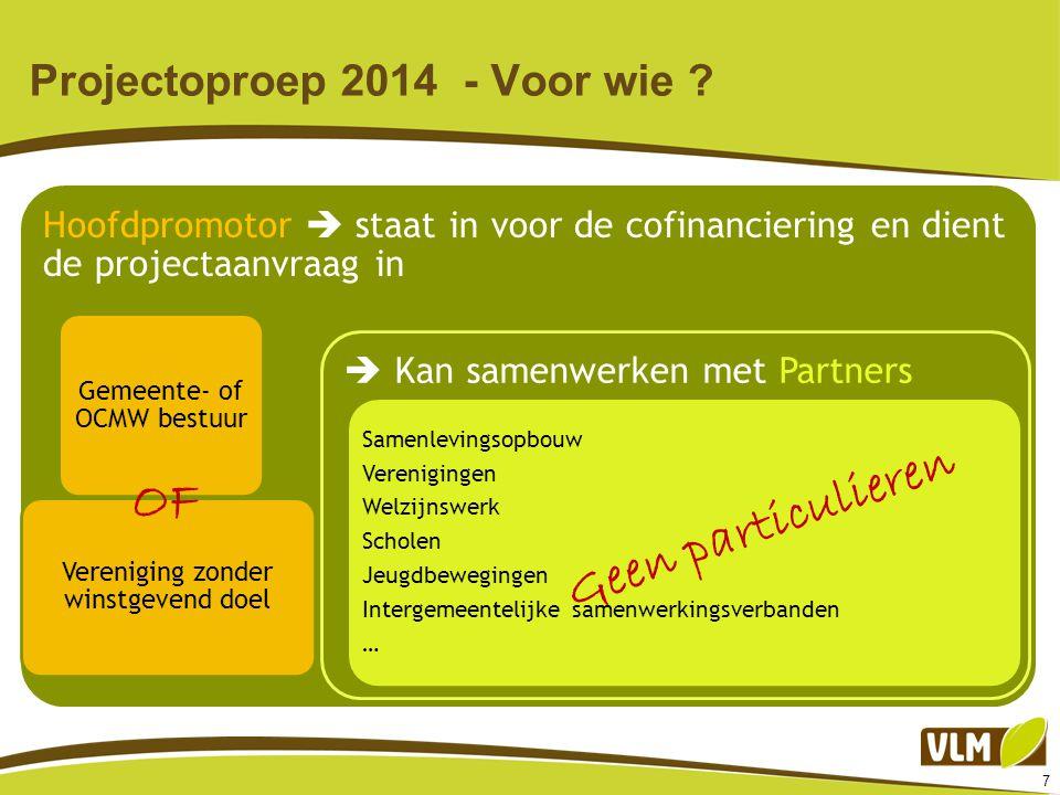 18 Projectoproep 2014 – Beslist lezen .