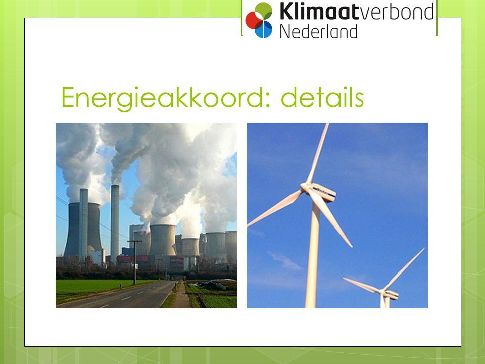 Energieakkoord: details