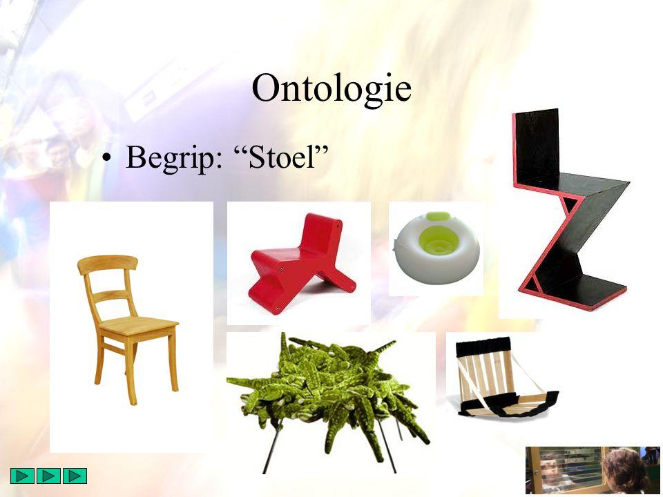 "Ontologie Begrip: ""Stoel"""