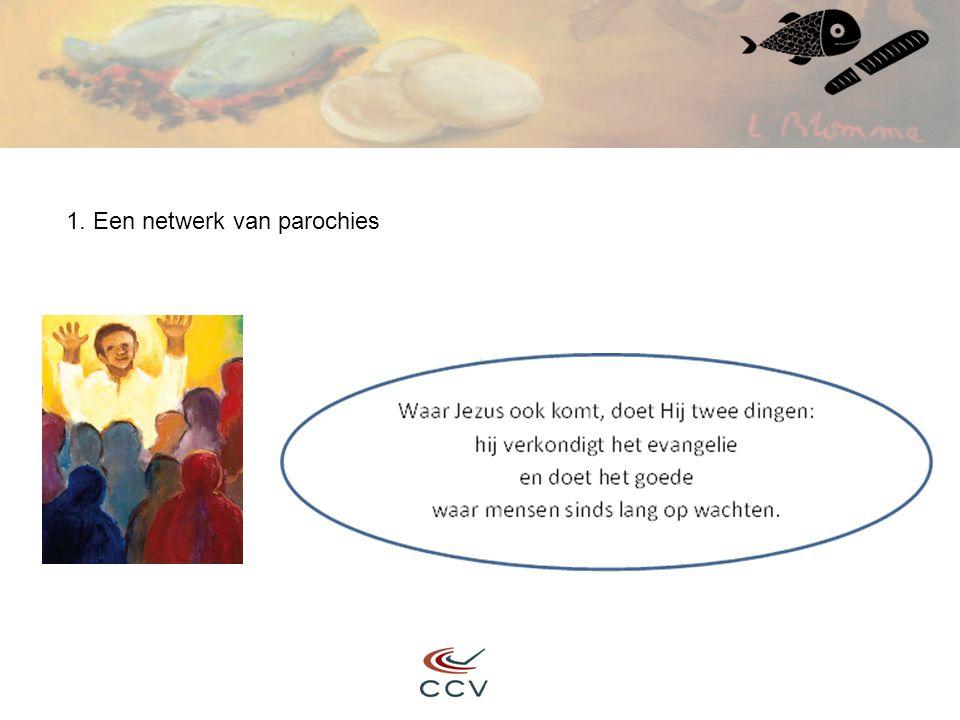 1. Een netwerk van parochies