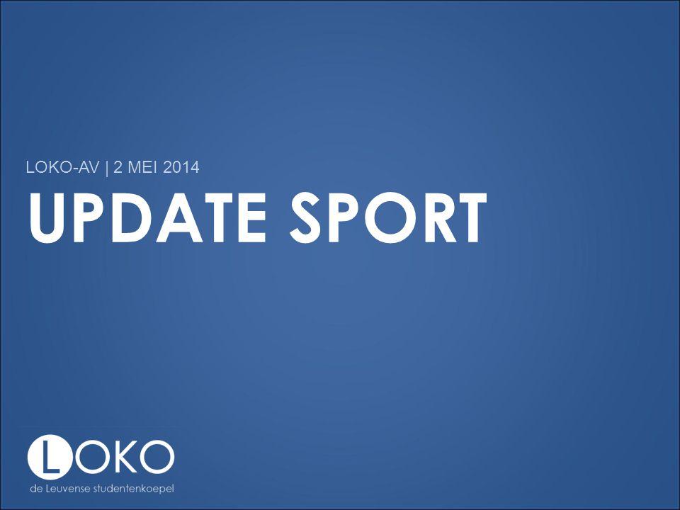 UPDATE SPORT LOKO-AV | 2 MEI 2014