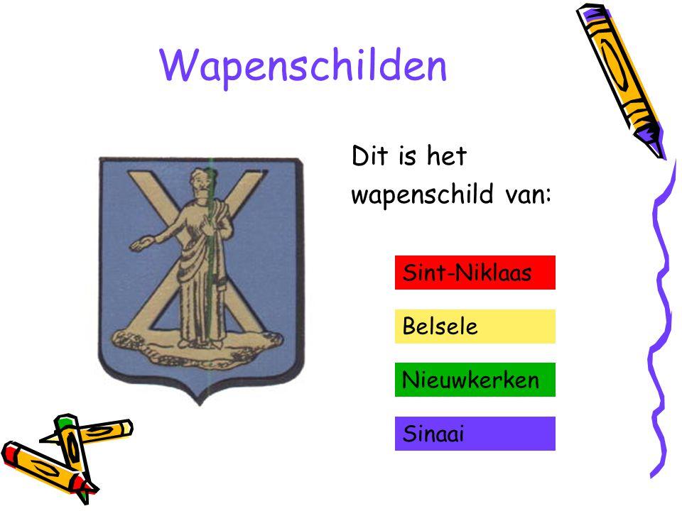Wapenschilden Dit is het wapenschild van: Sint-Niklaas Belsele Nieuwkerken Sinaai