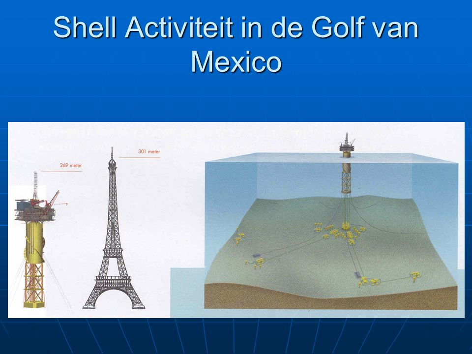 Shell Activiteit in de Golf van Mexico
