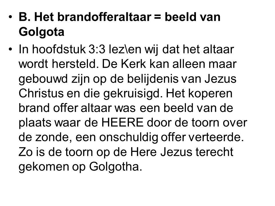 Wat ook van belang is dat wij zien wat het grote onderwerp van deze brief is nl.
