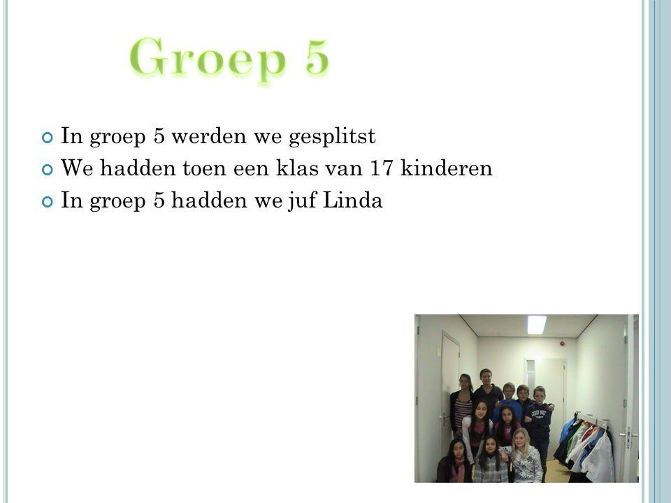 In groep 6 kwam farrah bij ons in de klas.