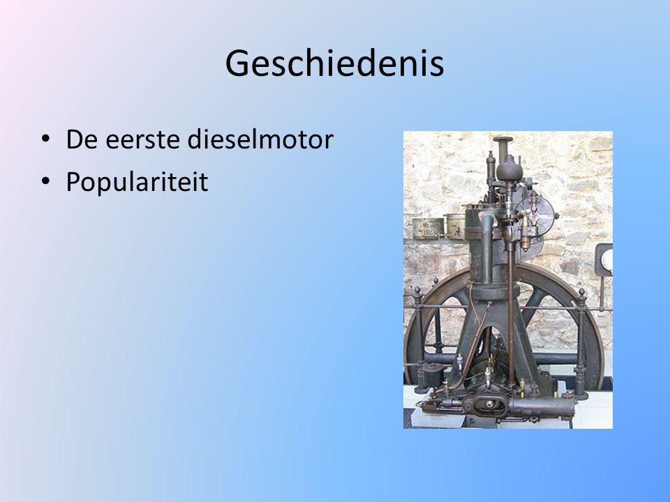 Werking van de Dieselmotor 4-takt