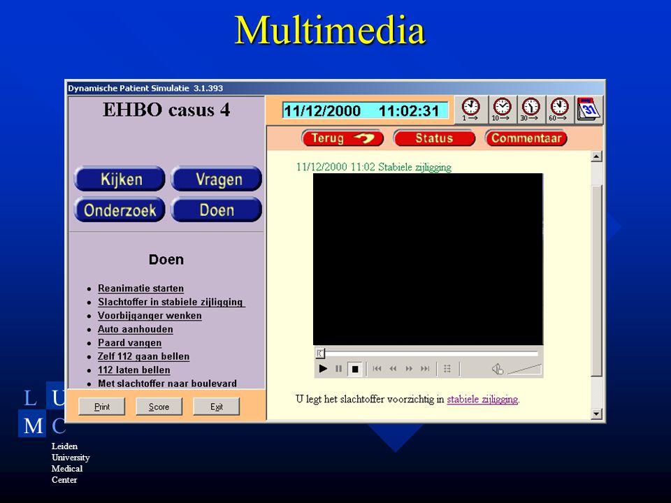 LU MC Leiden University Medical Center Multimedia
