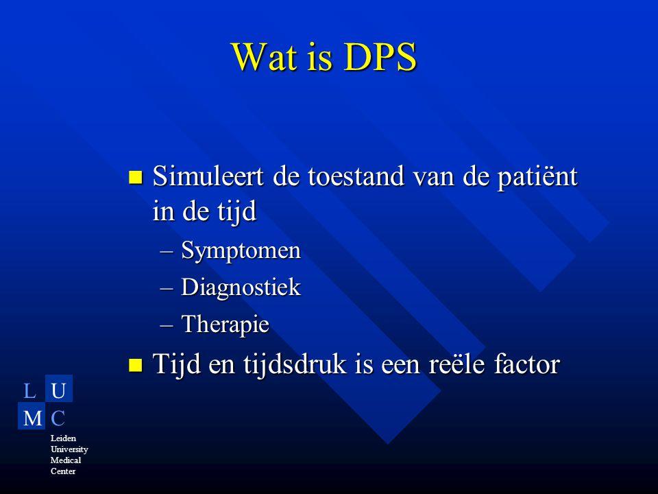 LU MC Leiden University Medical Center Integratie vakgebieden