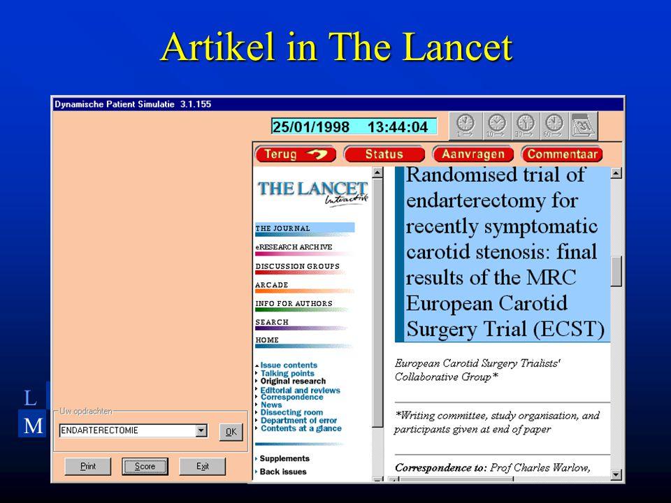 LU MC Leiden University Medical Center Artikel in The Lancet