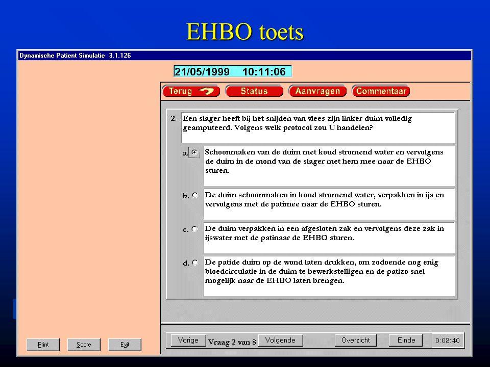 LU MC Leiden University Medical Center EHBO toets