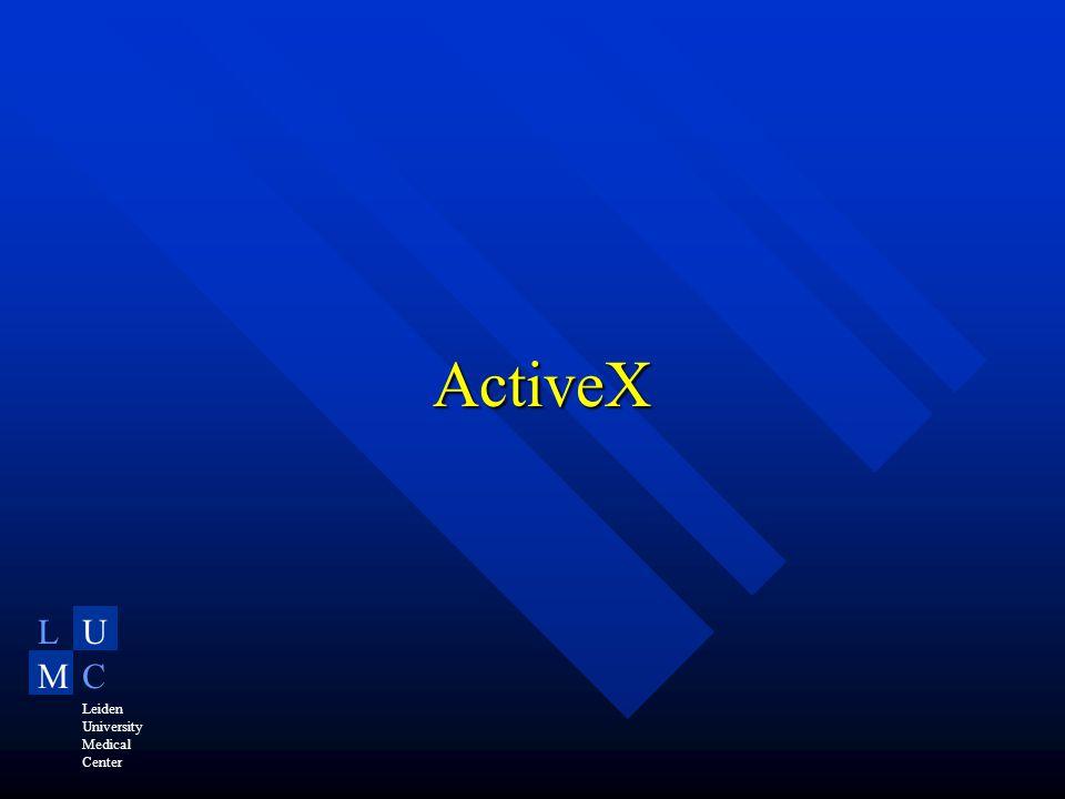LU MC Leiden University Medical Center ActiveX