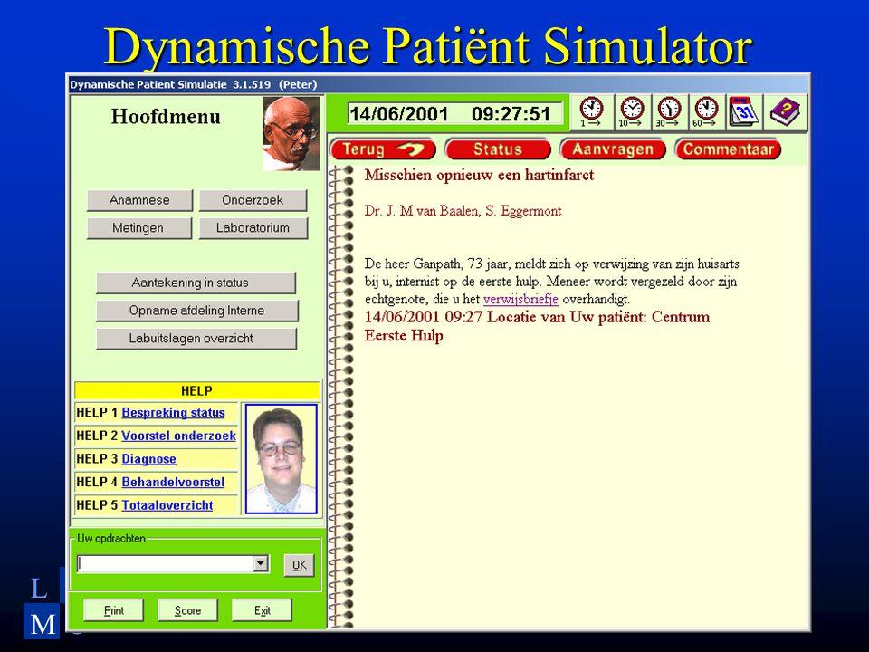 LU MC Dynamische Patiënt Simulator