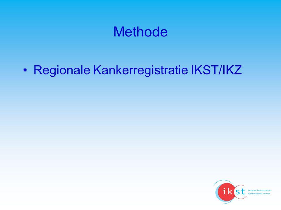 Methode Regionale Kankerregistratie IKST/IKZ