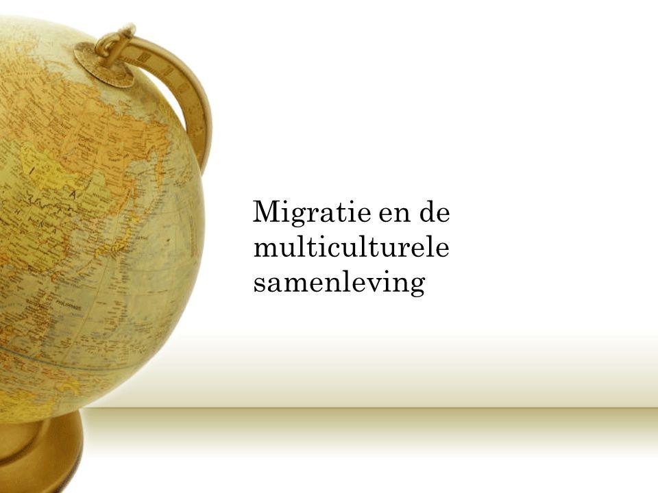 Migratie en de multiculturele samenleving