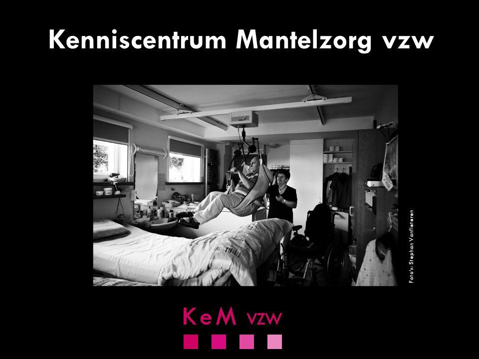 KENNISCENTRUM MANTELZORG  erkend als vereniging van gebruikers en mantelzorgers  oudste & kleinste vereniging  niet-verzuild  werking gebaseerd op ervaringen van (ex-)mantelzorgers www.kenniscentrummantelzorg.be