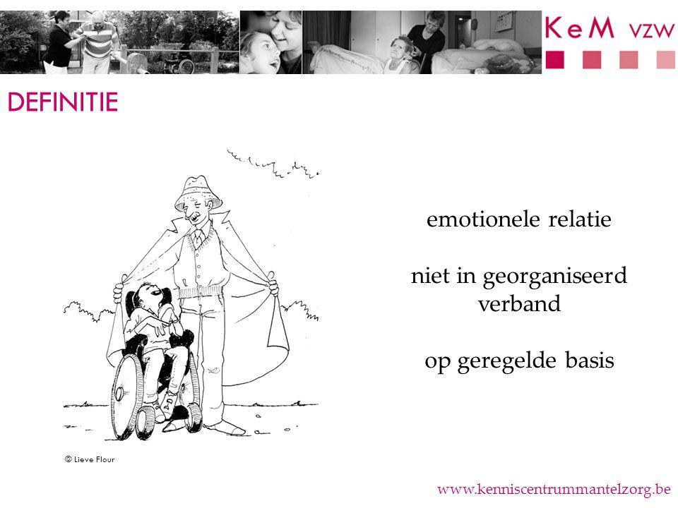 OUDEREN ALS MANTELZORGER www.kenniscentrummantelzorg.be  Verschillen naar tewerkstelling.